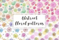 Abstract Floral Seamless Pattern Nrwavc