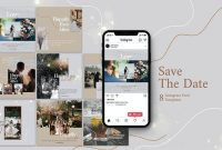 Wedding Photography Instagram Post Template 8s47zvr