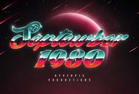 80s Text And Logo Effects Vol 5 5226111