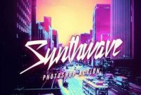 Synthwave Photoshop Action